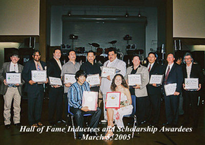 Inductees Scholarship 2005