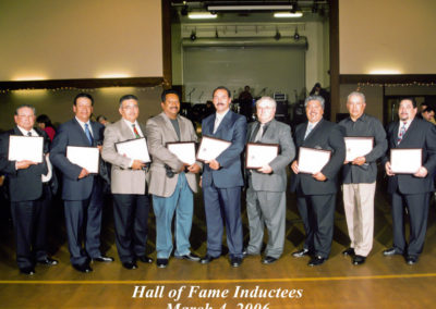 Inductees Scholarship 2006