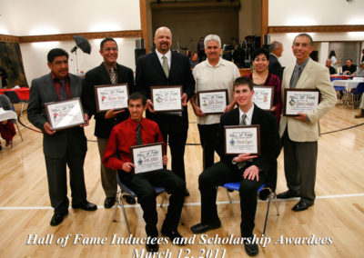 Inductees Scholarship 2011