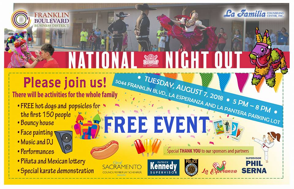 2018 National Night Out, South Sacramento