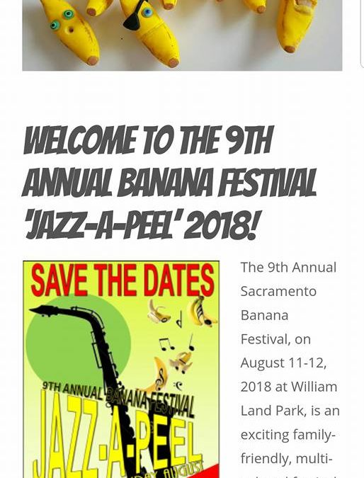 9th Annual Sacramento Banana Festival 2018
