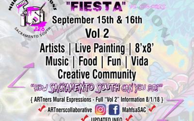 """Mural Expressions Vol. 2 """"Fiesta de Colores"""""""